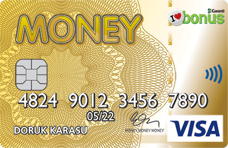MONEY VİSA GOLD